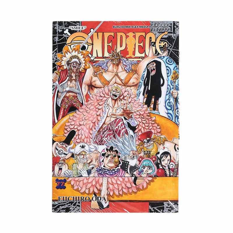 Elex Media Komputindo One Piece 77 716010805 by Eiichiro Oda Buku Komik
