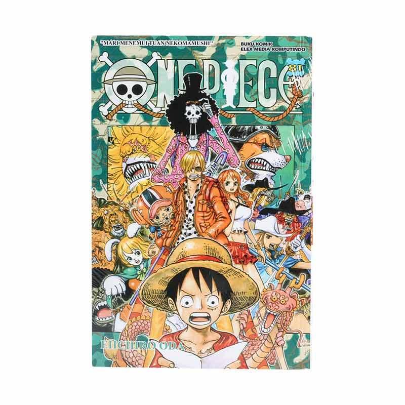 Elex Media Komputindo One Piece 81 717011233 by Eiichiro Oda Buku Komik