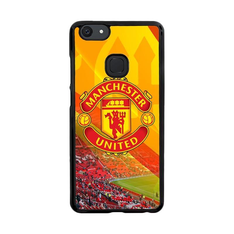 Flazzstore Manchester United Logo X316 Custom Casing for Vivo V7