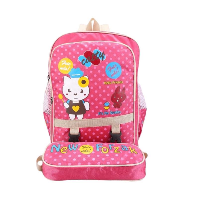 Spek Harga Catenzo Junior Backpack Tas Sekolah Anak Perempuan Pink Terbaru .