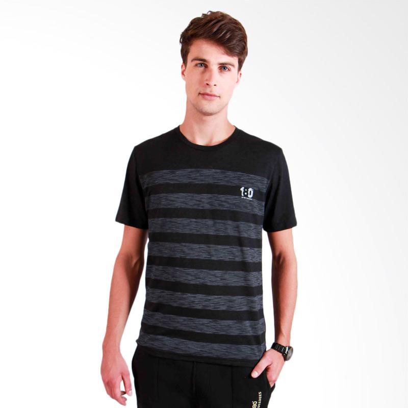 180 Degrees Inside Out T-Shirt Pria - Hitam