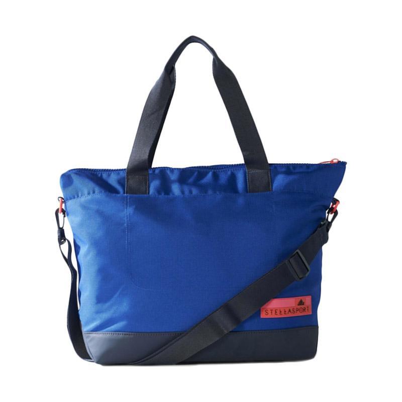 adidas SC Tote Base Tas Olahraga Wanita - Blue Black [899440]