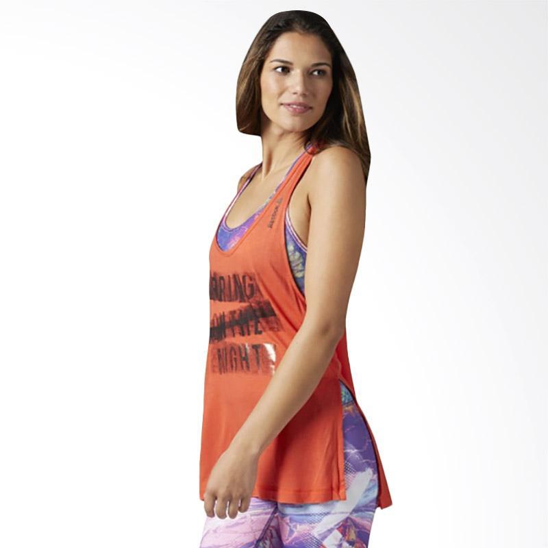 Reebok D Racerback Tank Baju Olahraga Wanita [BQ7594]