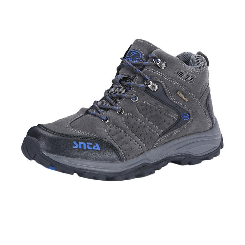 Snta 482 Sepatu Outdoor - Grey Blue