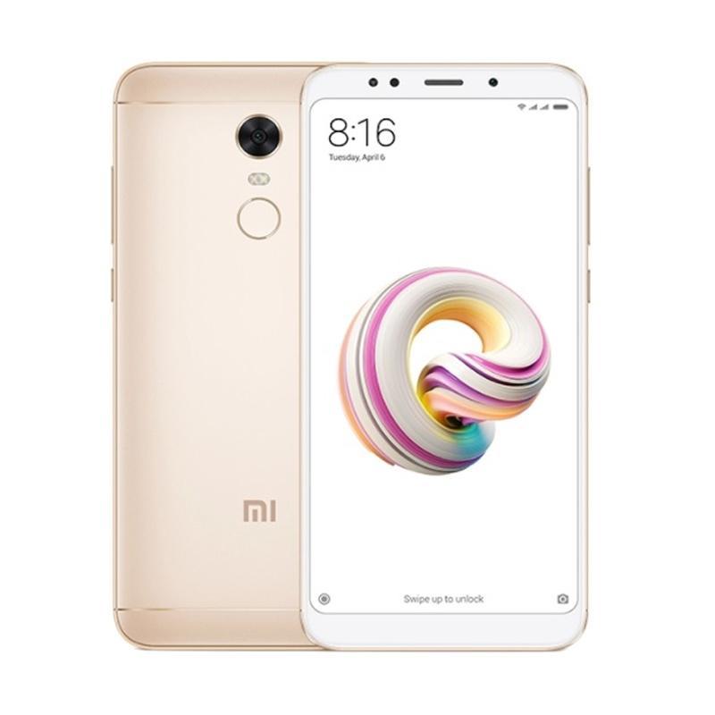 Xiaomi Redmi 5 Plus Smartphone - Gold [32GB/ 3GB]