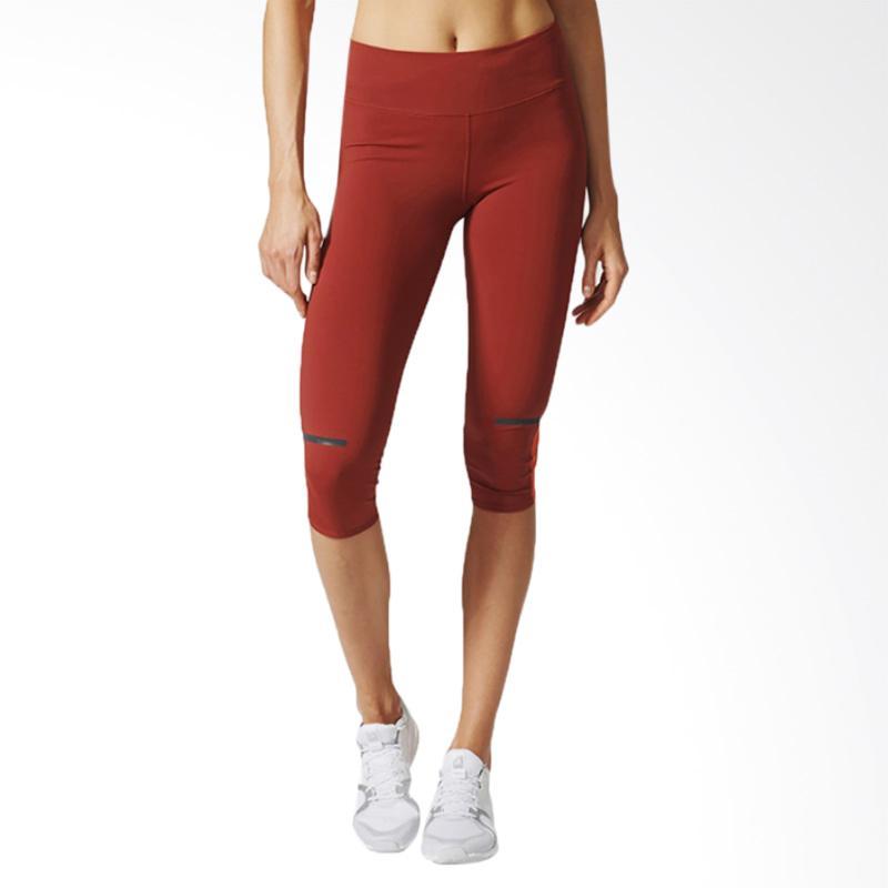 adidas Chill 3/4 Tight Women Celana Olahraga Wanita - Light Orange [AZ2930]