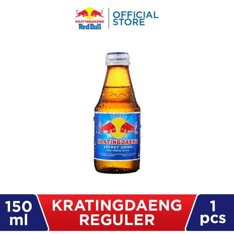 Kratingdaeng Regular Minuman Energi Kemasan Botol 150ml