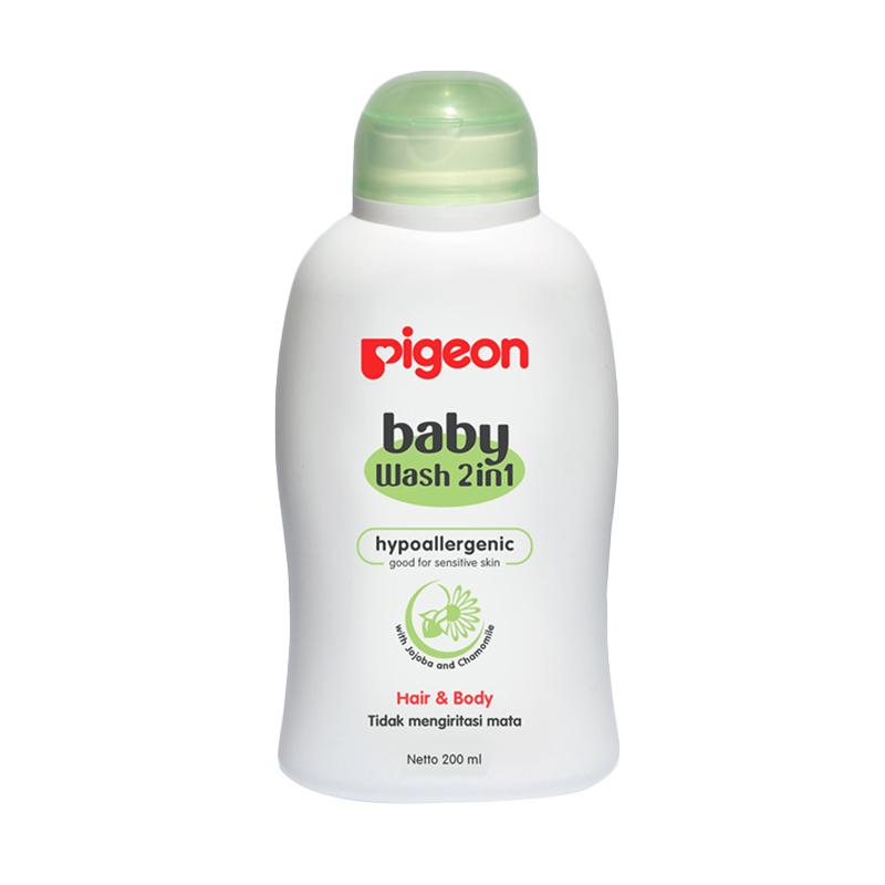 harga Pigeon Baby Wash Chamomile Shampoo & Sabun Cair Bayi [200 mL] Blibli.com