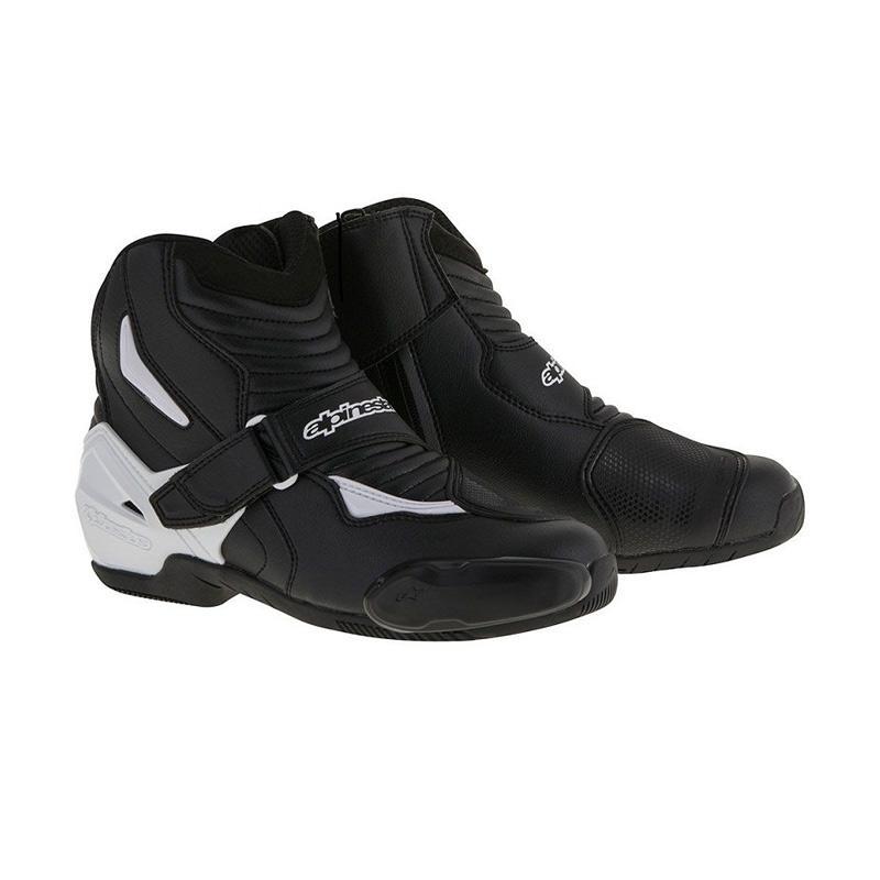 harga Alpinestars SMX-1 R Sepatu Touring - Black White [Original] Blibli.com