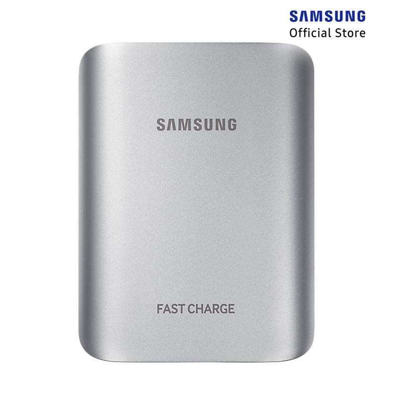 ST3 Regular - Samsung Fast Charge Battery Pack Powerbank - Silver [10200mAh/10.2A/Max 15W]