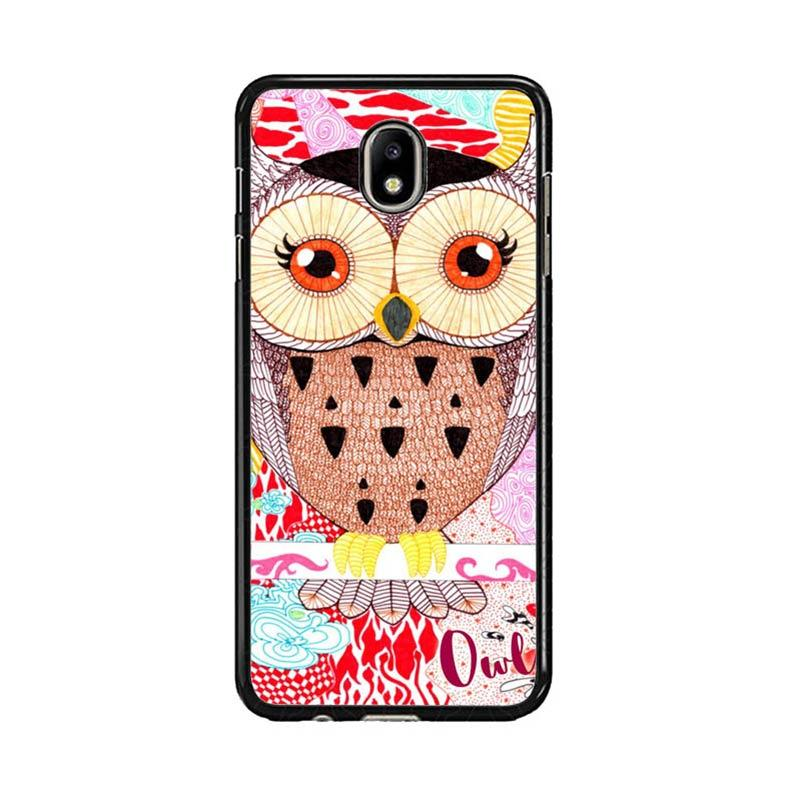 Acc Hp Abstract Owl Drawing E0264 Custom Casing for Samsung J7 Pro
