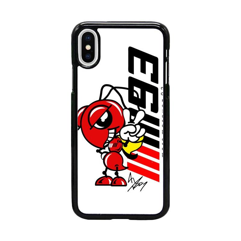Acc Hp Marc Marquez Ant 93 W4966 Custom Casing for iPhone X