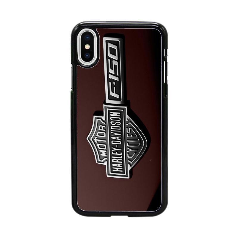 Acc Hp Harley Davidson Logo W5116 Custom Casing for iPhone X
