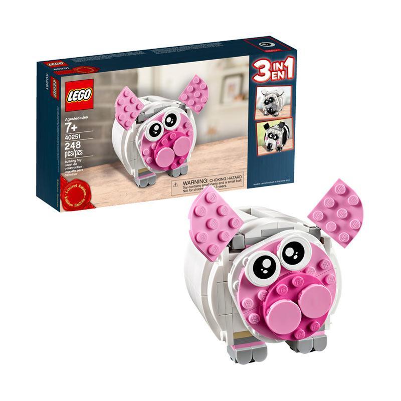 LEGO 40251 Mini Piggy Bank Mainan Blok & Puzzle