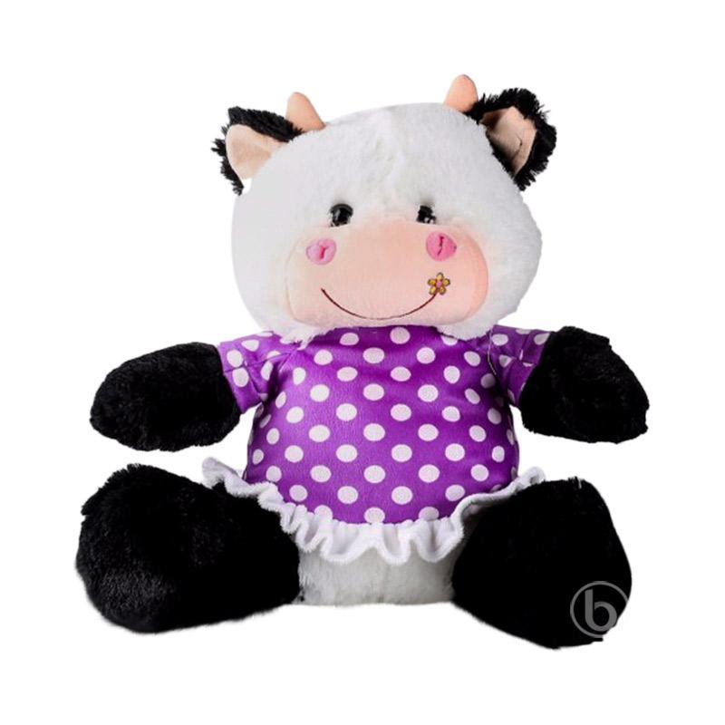 harga Istana Boneka Sit Cow Cantik Dot Boneka - Purple [14 Inch] Blibli.com