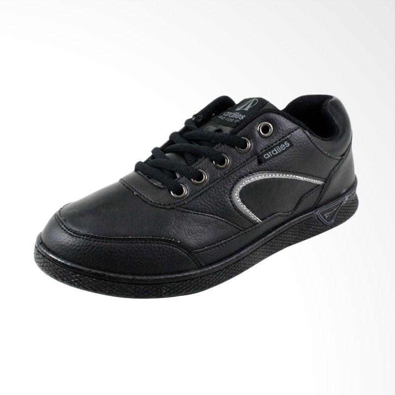 harga Ardiles Mad Sepatu Casual Sekolah - Hitam Blibli.com