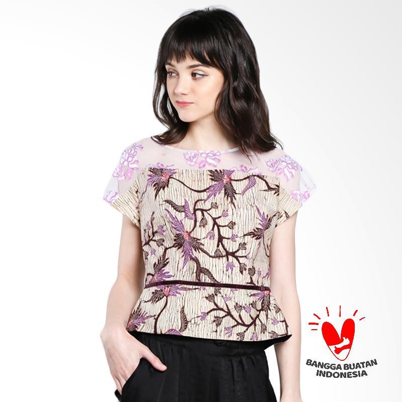 harga Lombang Batik by Yati Law Kombinasi Brukat Blus Wanita Blibli.com