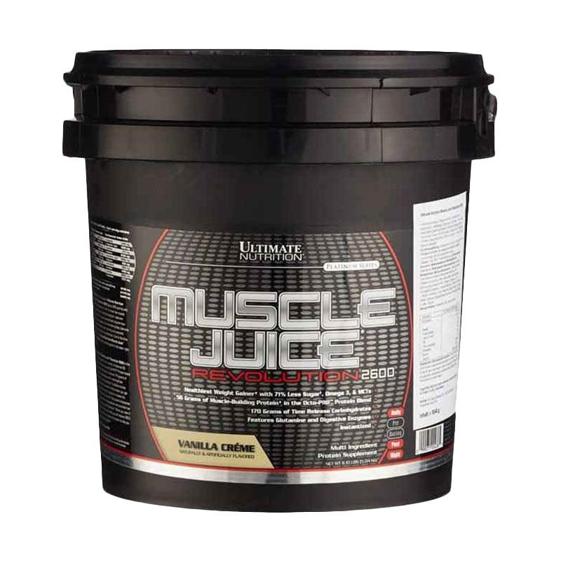 Ultimate Nutrition Muscle Juice Revo Vanila Suplemen Kesehatan [11.10 lb]