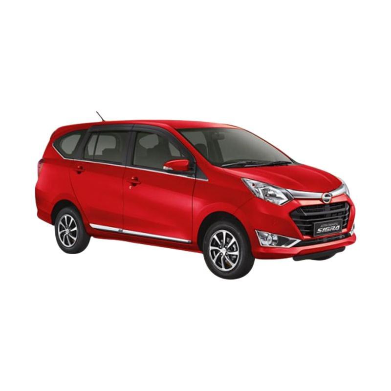 Daihatsu New Sigra 1 0 D Mobil Red Solid Uang Muka Kredit Bidbox