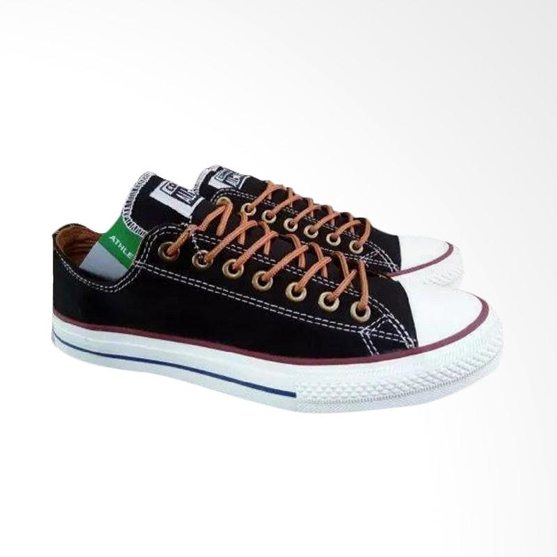 harga HARGA TERMURAH ? Converse Classic All Star Sneakers Sepatu Pria - Hitam Blibli.com