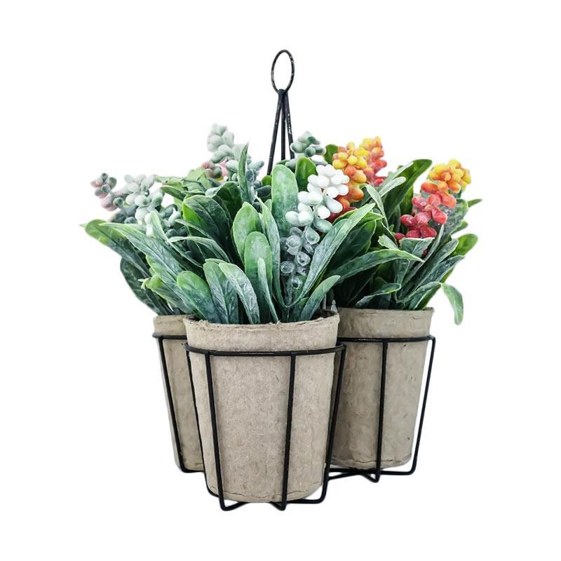 Jual Asna Dlp4001 Bunga Artifisial With Pot Gantung Murah Maret