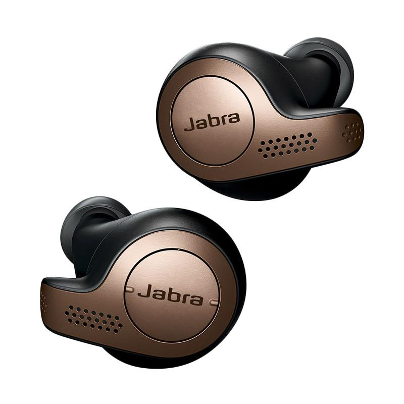 Jabra Elite 65t Bluetooth Headset with Charging Casing Copper Black