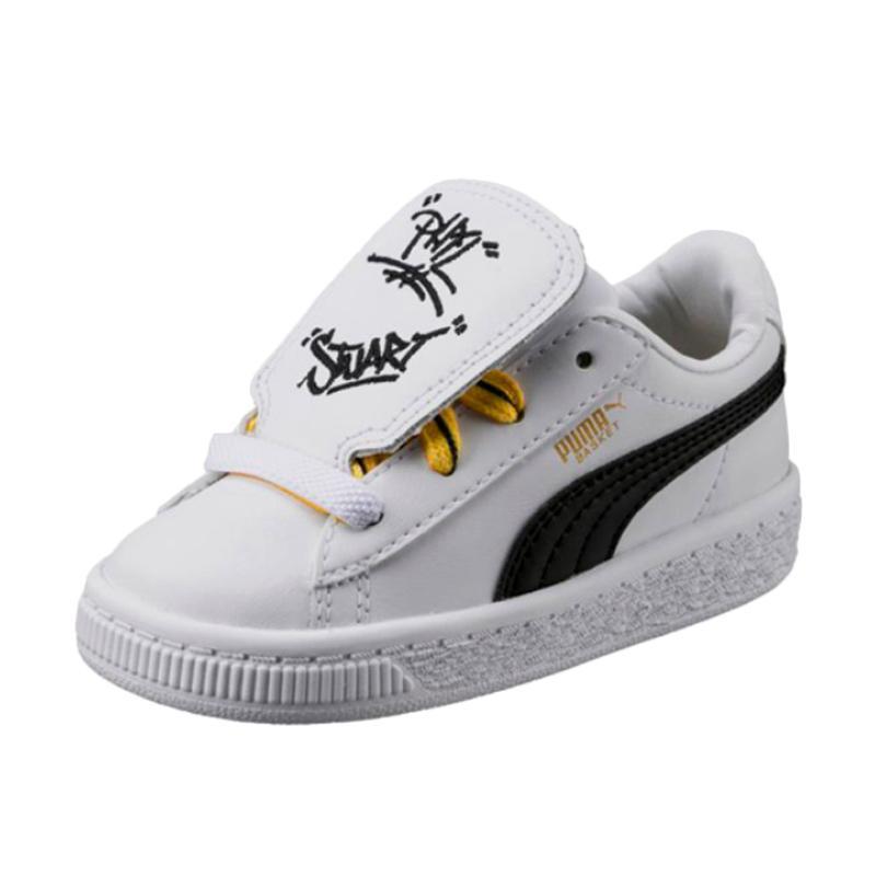 harga PUMA 36515201 Minion Basket Tongue Infant Kids Shoes Sepatu Olahraga Anak Blibli.com