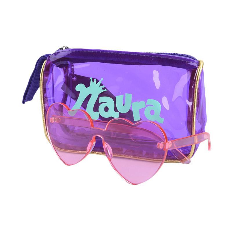 Naura Kacamata Sunnies Love Pink Merchandise