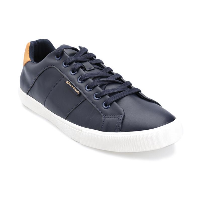 Airwalk Kinn Sepatu Sneaker Pria - Navy Camel f028c34193