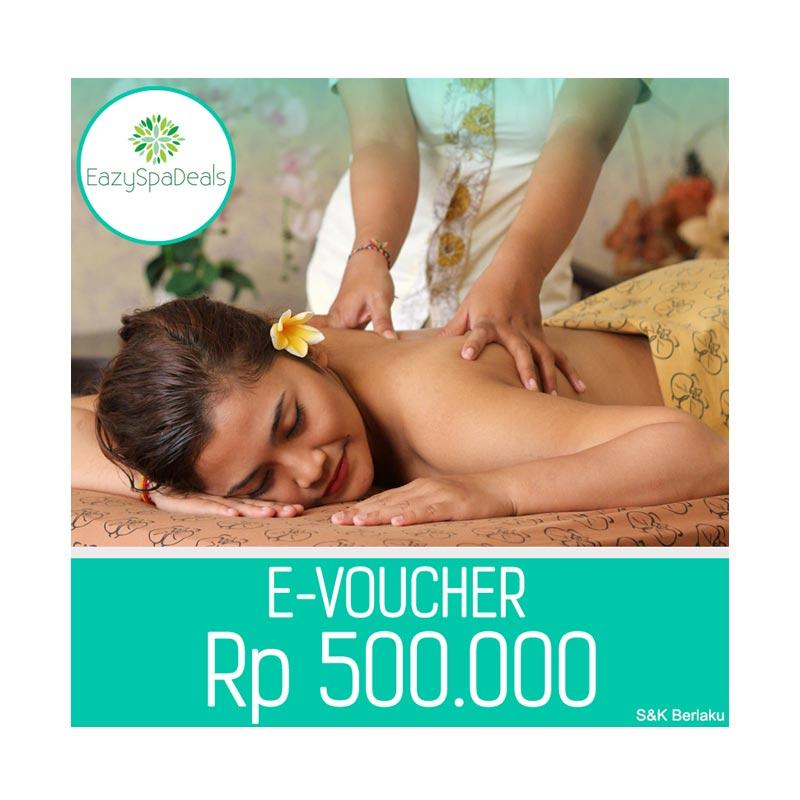 EazySpaDeal Value Voucher Rp 500 000