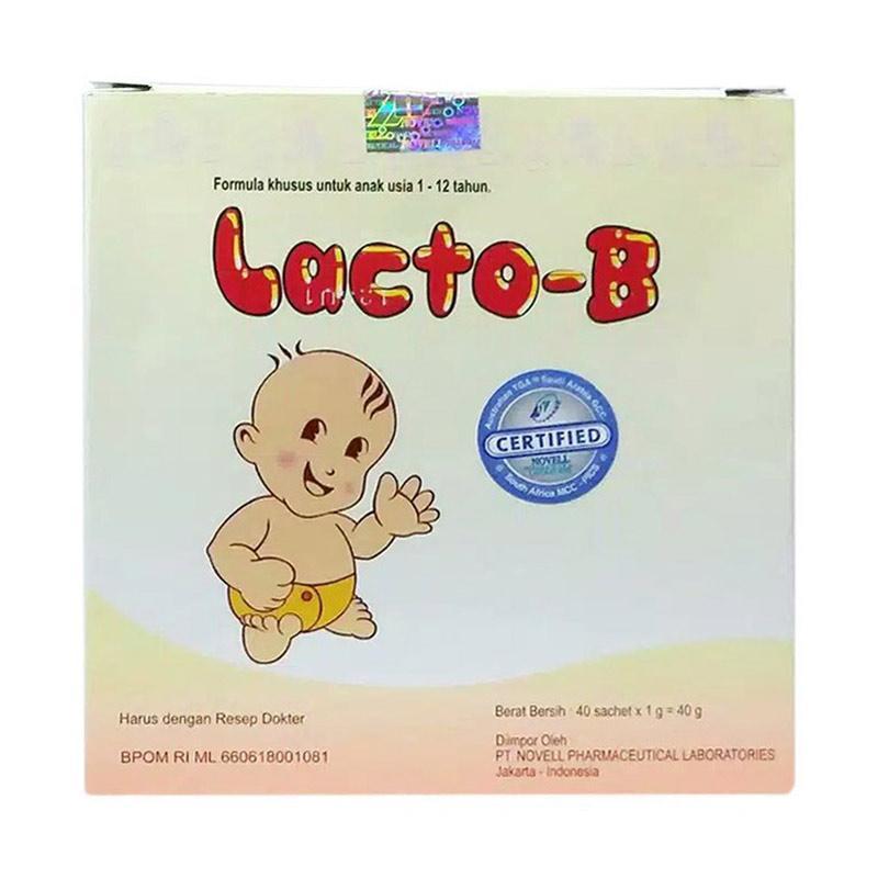 Novell Lacto B Obat Kesehatan Bayi 10 pcs