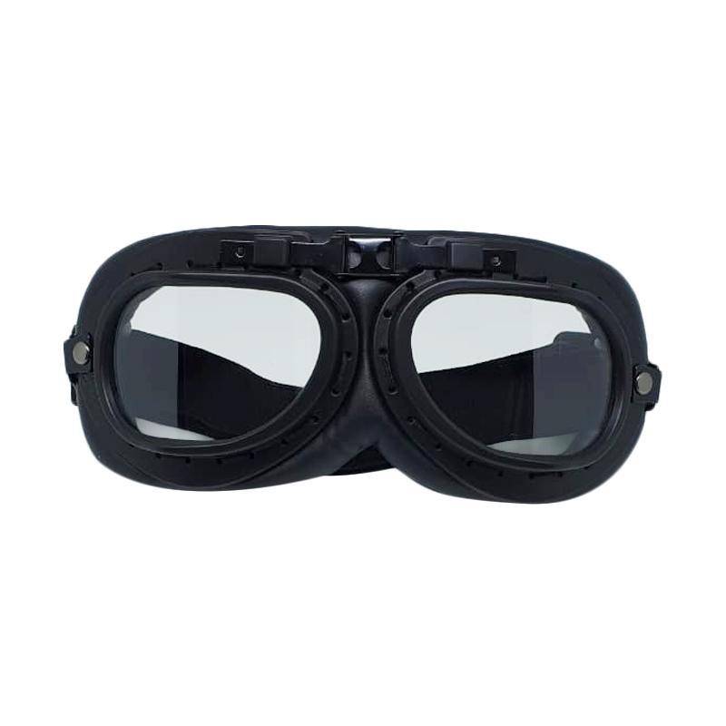 Snail Helmet Goggle Classic Clear Visor Kacamata Motor - Clear