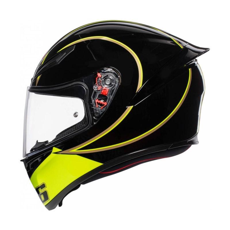 Jual Agv K1 Rossi Gothic 46 Helm Full Face Online Maret 2021 Blibli