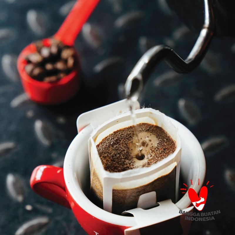 Tanamera Coffee Kerinci Natural Bubuk Kopi Drip Bag Filter Bag