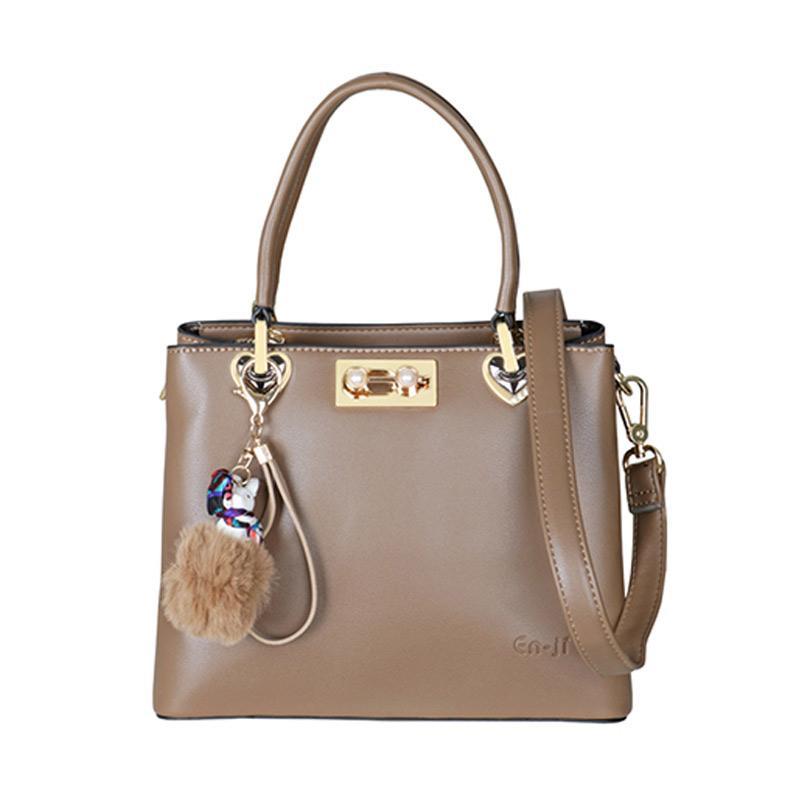 EN-JI by Palomino Tertia Hand Bag Wanita - Khaki