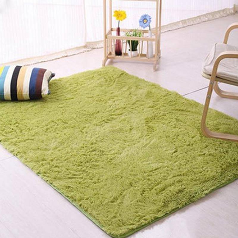 Bluelans Plush Gy Soft Carpet Room