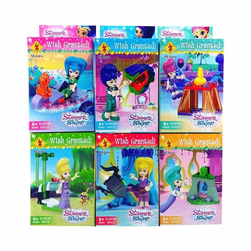 Jual Shimmer Shine Brick Sl Toys 89106 Shimer And Shine Set Blocks Stacking Toys 6 Pcs Online Oktober 2020 Blibli Com