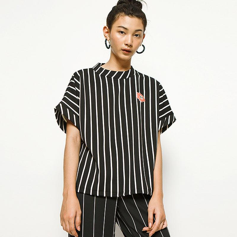 Cottonink Blouse Wanita Vertical Striped Paxton