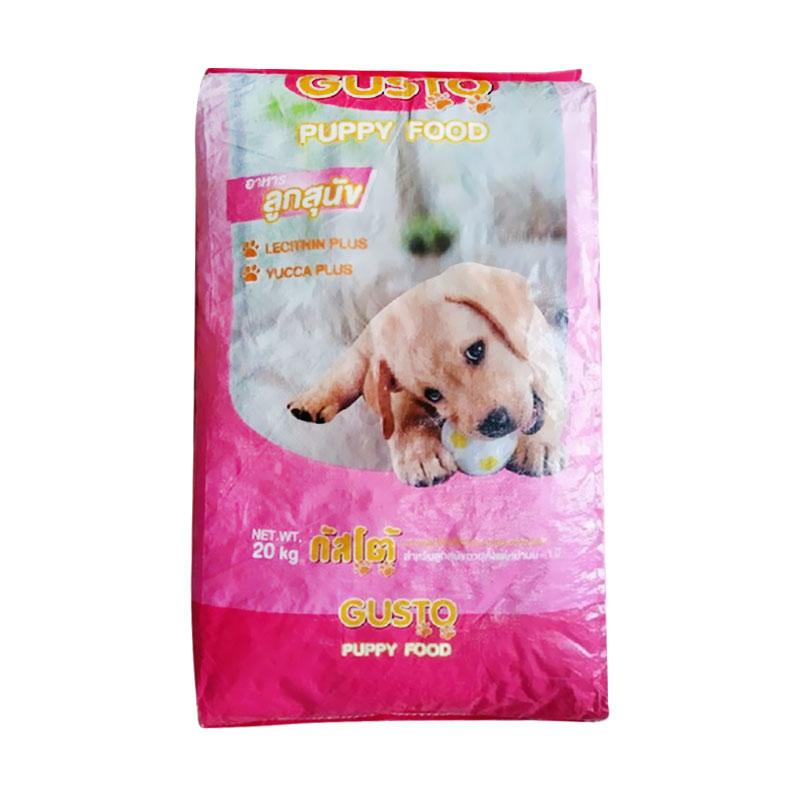 Jual Gusto Puppy Dog Food 20 Kg Online Oktober 2020 Blibli Com