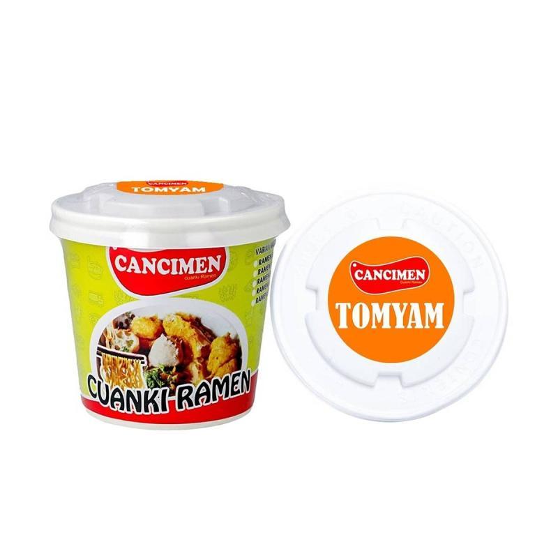 Cancimen Food Cuanki Ramen Rasa Tomyam Makanan Instan