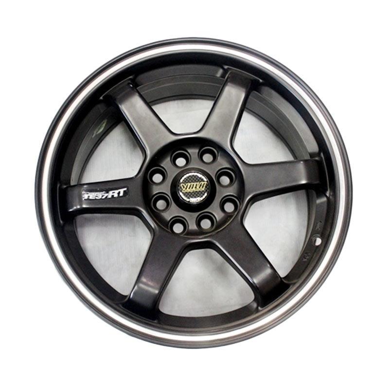 Volk Racing 648 Te 37 Ring 16x7 Pcd 100 1143 Black Matte Velg Mobil