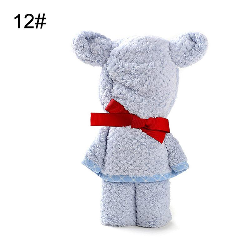 Teddy Bear Coral Fleece Baby Blanket
