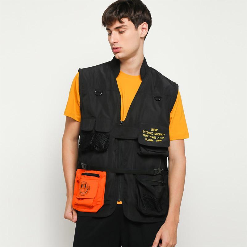 Wellborn x Blibli Alpha Utility Vest Black Drill