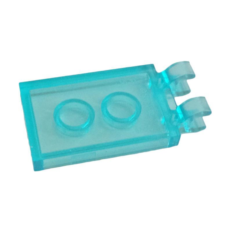 Lego Nose Cone Small 1x1 Transparent Blue 20 pieces NEW!!!