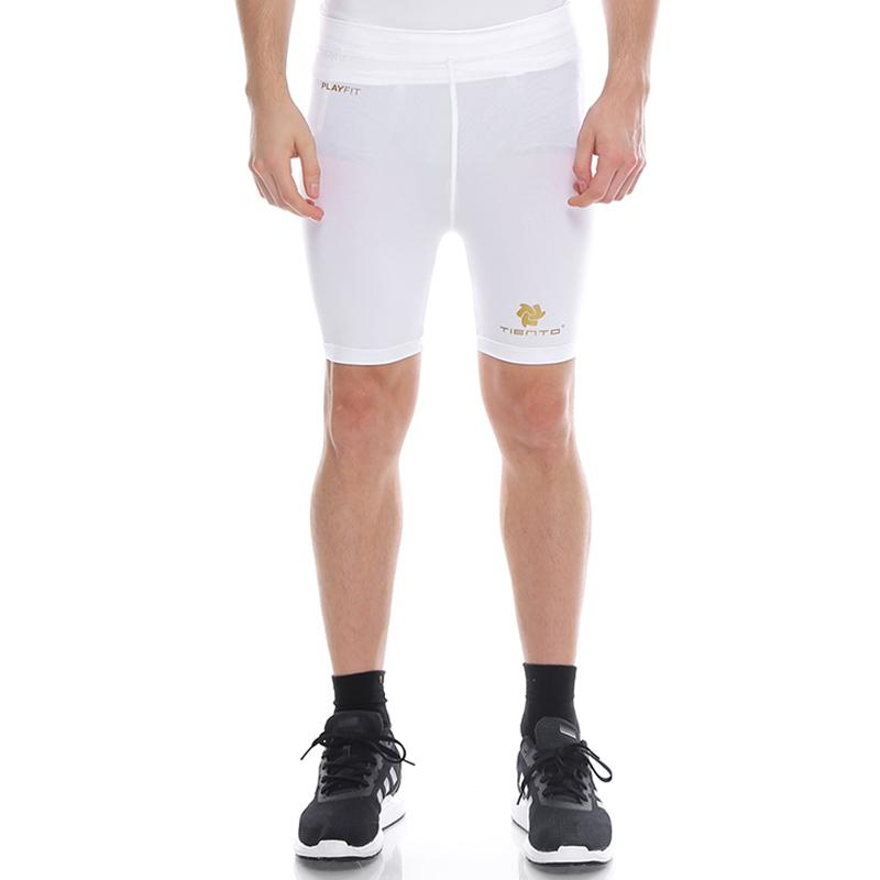Jual Tiento Short Pants Legging Celana Pendek Olahraga Pria White Online Oktober 2020 Blibli Com