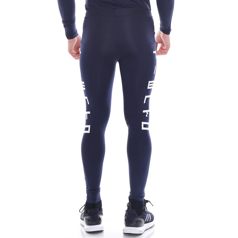 Jual Tiento Typotype Tight Legging Sport Long Pants Pria Navy Online Oktober 2020 Blibli Com