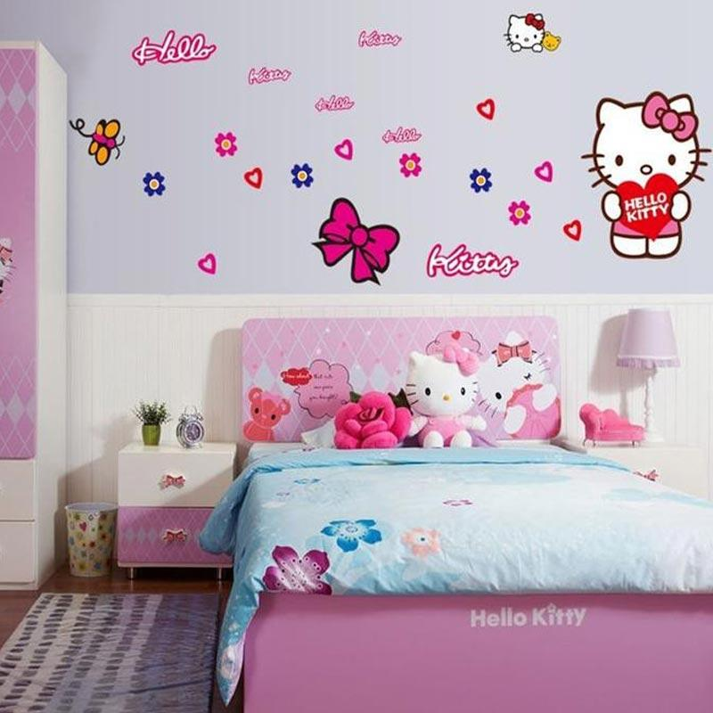 Contoh Gambar Hello Kitty Di Dinding Ideku Unik