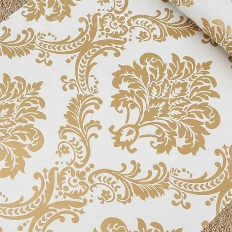 Jual Oem Wallpaper Dinding Motif Batik Wallpaper Dinding - Gold [10 M X 45  Cm] Terbaru Juni 2021 | Blibli