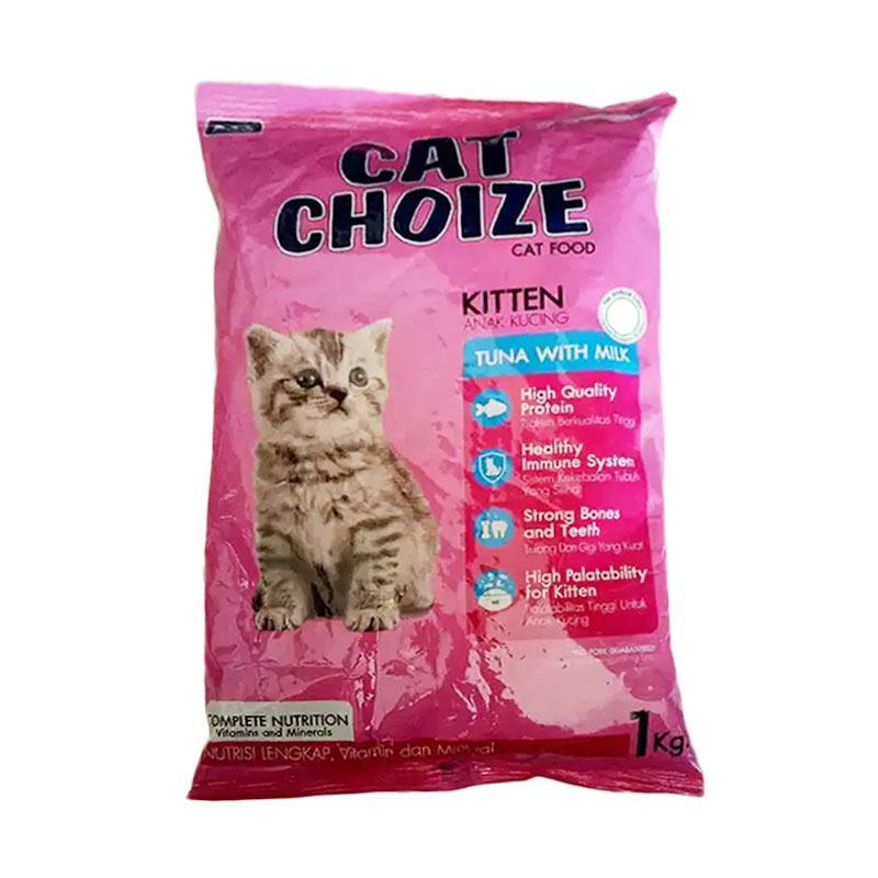Cat Choize Tuna with Milk Makanan Kucing 1 Kg