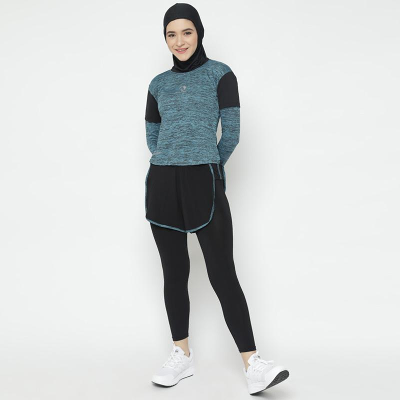 Waldos Sports Apparel Outdoor Hijab Muslim Baju Training Senam